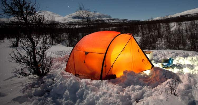 Can a Three Season Tent Be Used in the Winter