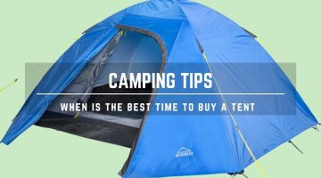 best time to buy tent