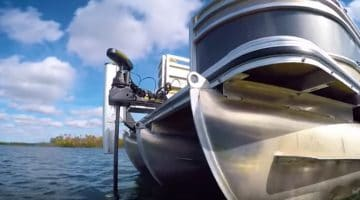 can you put a trolling motor on pontoon boat