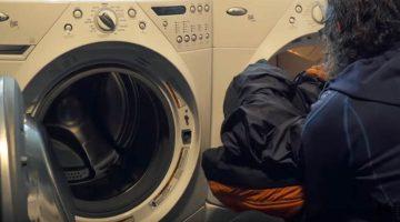 how to wash down sleeping bag