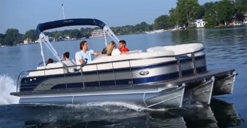 tritoon boat
