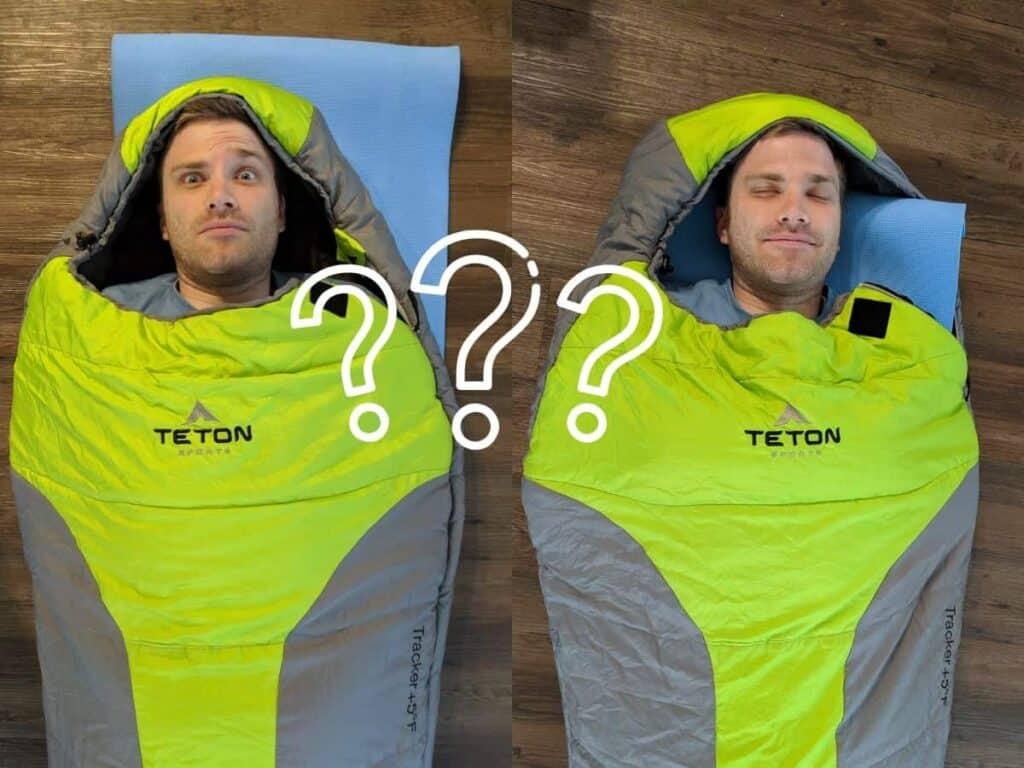 sleeping_pad_inside_and_under_sleeping_bag