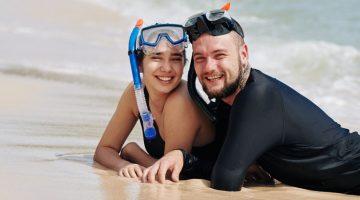 best snorkel masks for beards