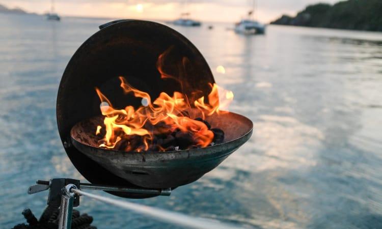 boat grilling