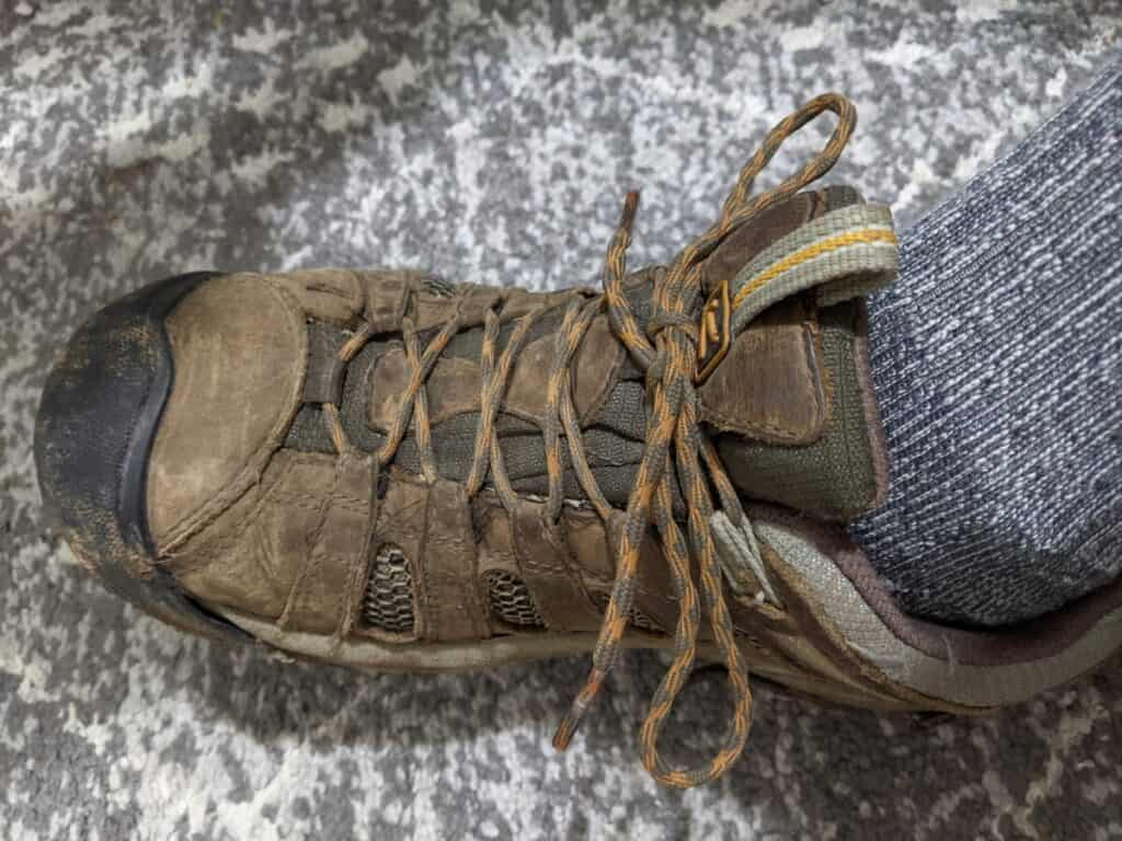 keen-hiking-shoes-with-laces-tightened-so-there-is-no-slack-along-laces